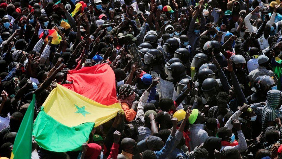 Ousmane Sonko senegal